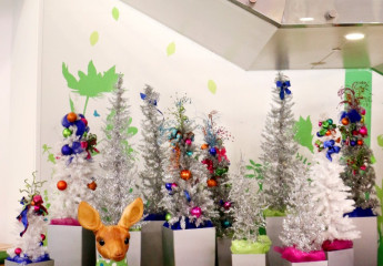 Children's Hospital Holiday Decor
