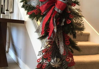 Residential Holiday Garland