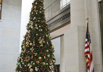 Ohio Statehouse Holiday Tree