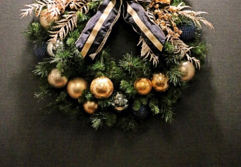 Commercial Holiday Wreath