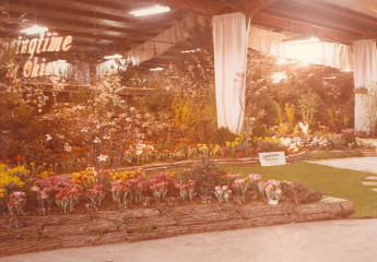 Oakland Nursery Home & Garden Show display, c. 1965
